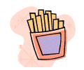 Vocabulário de Inglês: Food and beverage (comida e bebida)