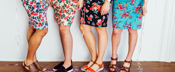 Inglês - Compreensão de texto shopping for a skirt