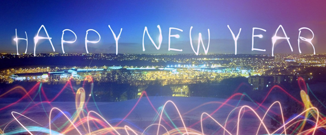Inglês como ele é Happy New Year!