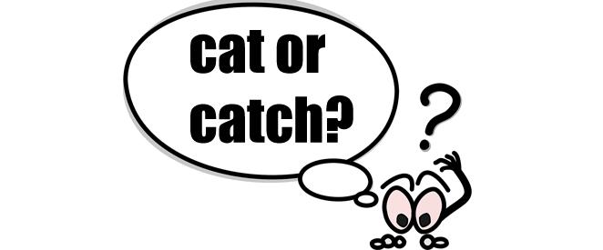 Inglês - Dica de pronúncia inglesa cat X catch