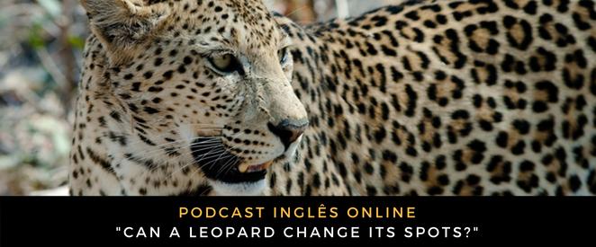 Inglês - Podcast Can a leopard change its spots