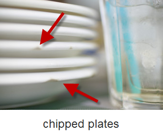 Chipped plates
