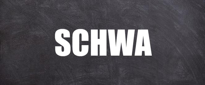 Pronúncia de inglês palavras com SCHWA