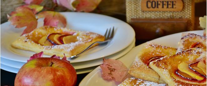 Inglês - Compreensão de texto Apple Coffee Cake recipe