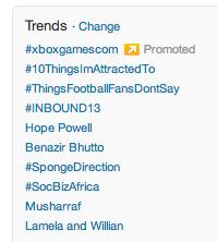 inglês - trending topics