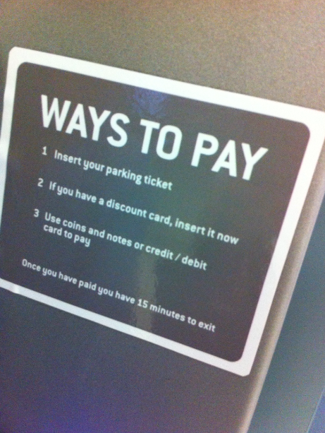 Inglês: ways to pay
