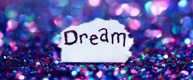 Como falo em inglês A vida não passa de um sonho