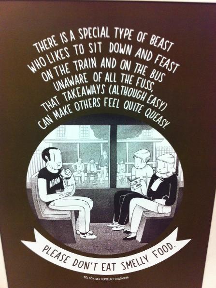 inglês: metrô de Londres