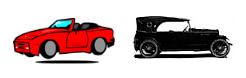 inglês: cars