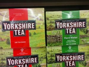 Chá Yorkshire e os ingleses