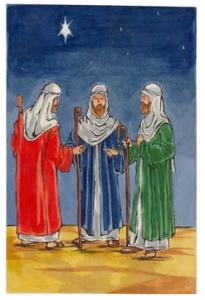 ingles tres reis magos