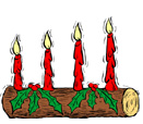 ingles yule log