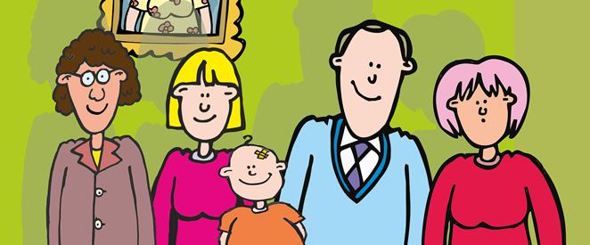 Family members (membros da família em inglês)