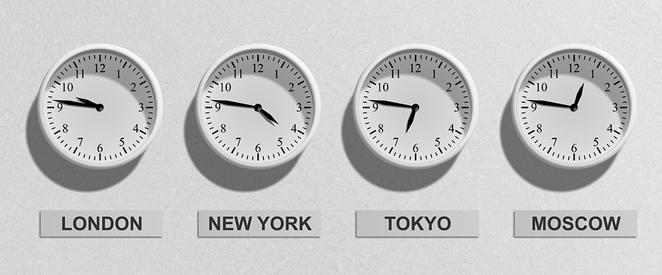 Horas em inglês
