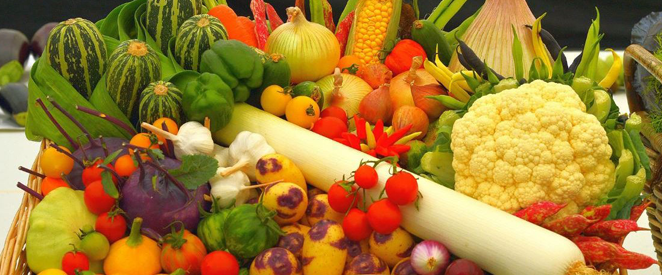 Legumes e verduras em inglês