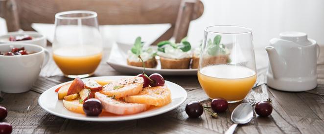 Palavras para o café da manhã em inglês