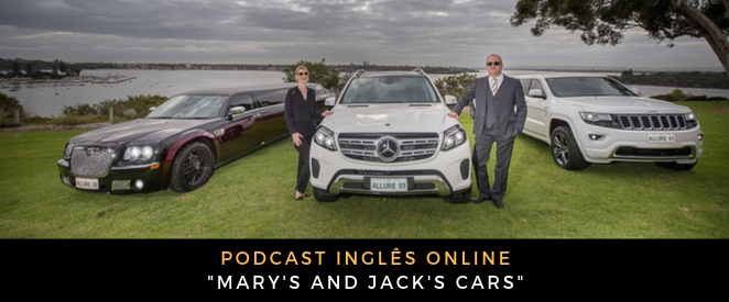 Podcast Mary's and Jack's cars