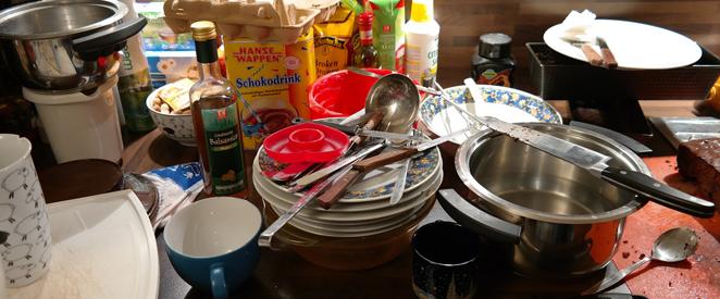 objetos de cozinha em ingles