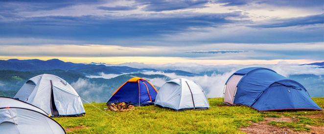 Vocabulario de acampamento em ingles
